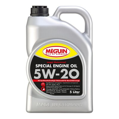 Meguin Special Engine Oil SAE 5W 20